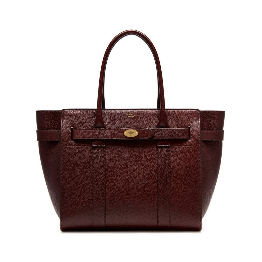 Mulberry zipped bayswater in oxblood for The bayswater