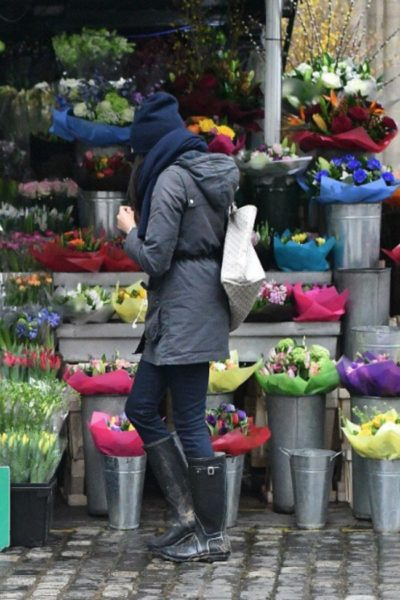 Meghan Goes Flower Shopping in London