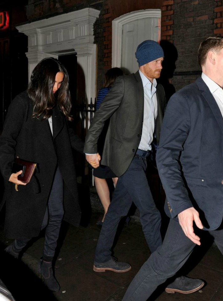 Meghan and Harry Head to Soho House in London