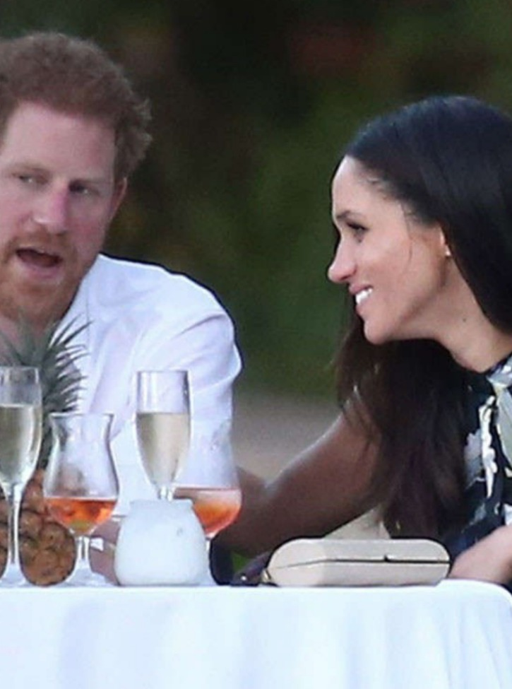Meghan and Harry Attend Jamaican Wedding