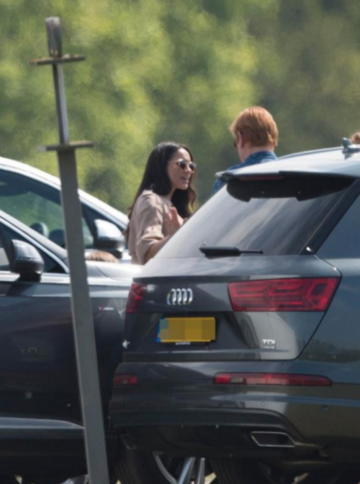 Meghan Attends Day 2 of Audi Polo Championship