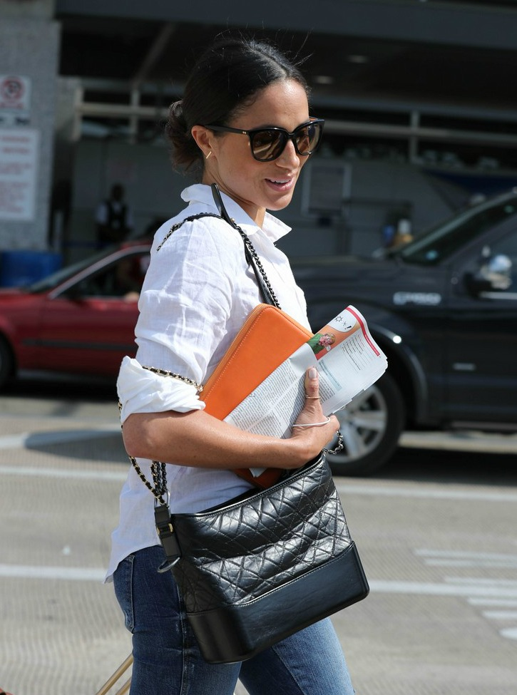 Meghan Arrives in Austin for Suits Event
