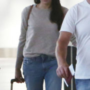Meghan Markle Cashmere Airport
