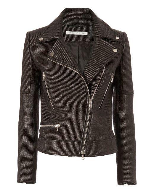 Meghan Markle Veronica Beard Leather Jacket Photoshoot