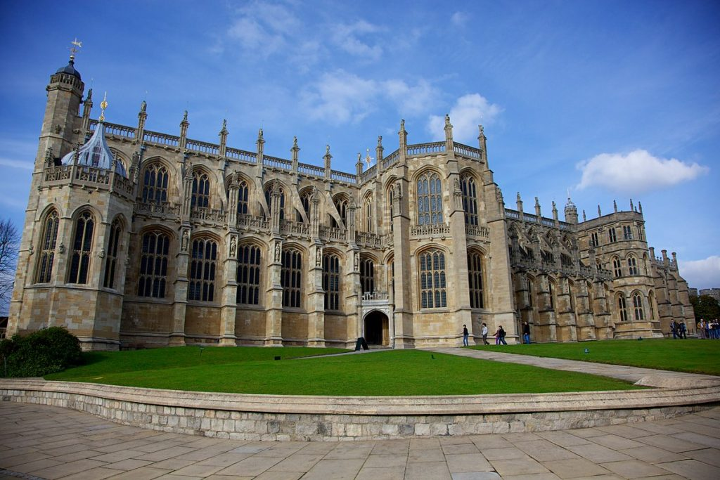 Meghan Markle St George's Chapel Windsor Castle
