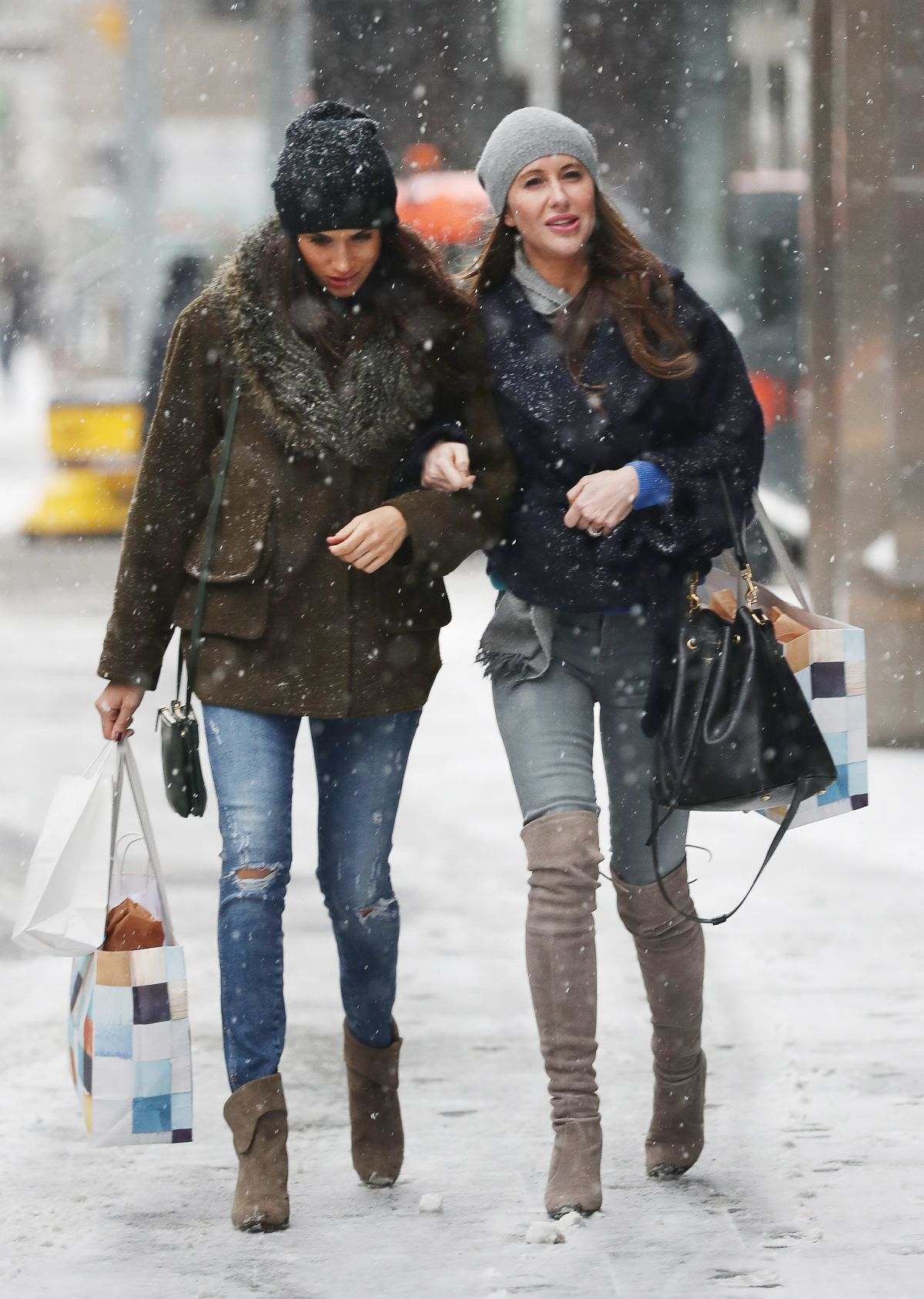 Stylist Saturday Meghan Markle S Winter Shopping Style