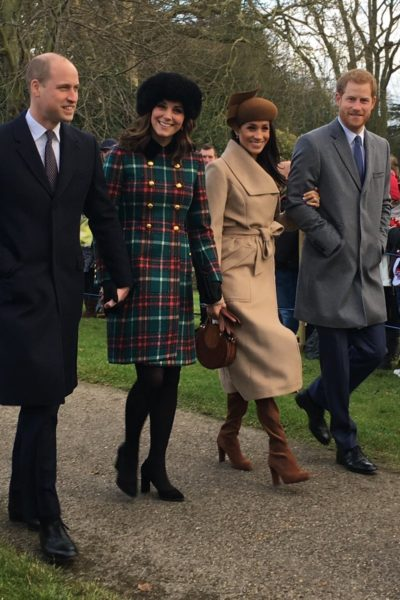 Meghan Markle Joins the Royal Family for Christmas Day