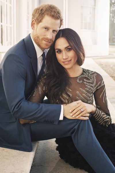 Meghan Markle and Prince Harry's Engagement Photos Released