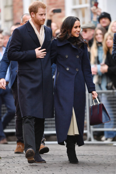 Stylist Saturday: Meghan's Nottingham Engagement Look for Less