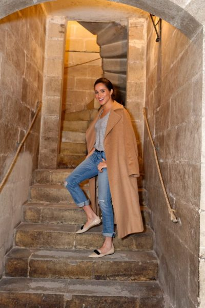 Stylist Saturday: Visiting Meridiana Wine Estate with Meghan Markle
