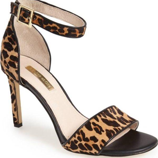 Meghan Markle Louise et Cie Orla Leopard Shoes