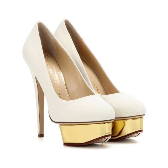 Pumps Dolly in canvas Charlotte Olympia ZYmJ6h