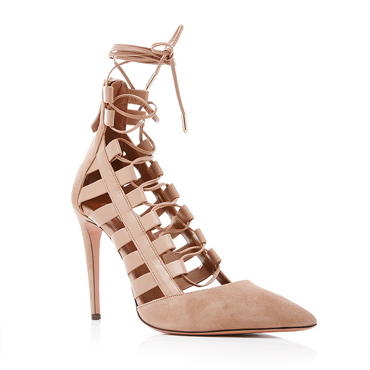 sale 100% authentic outlet authentic Aquazzura Amazon Cage Wedges with credit card online qtYC4W
