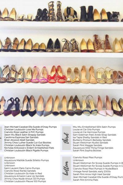 A Peek Inside Meghan Markle's Shoe Closet