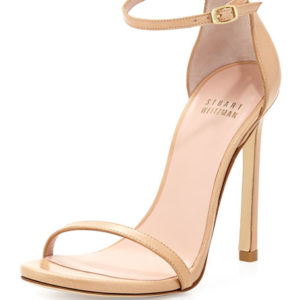Meghan Markle Stuart Weitzman Nudist Shoes