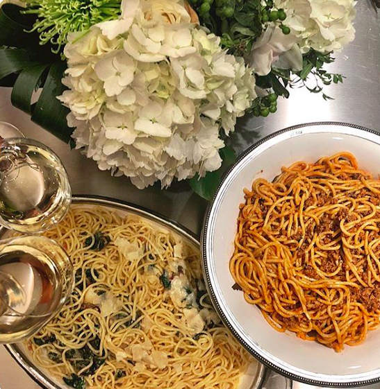 Meghan Markle Jessica Mulroney pasta