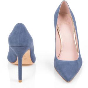 Meghan Markle Stuart Weitzman Scoop Suede Shoes