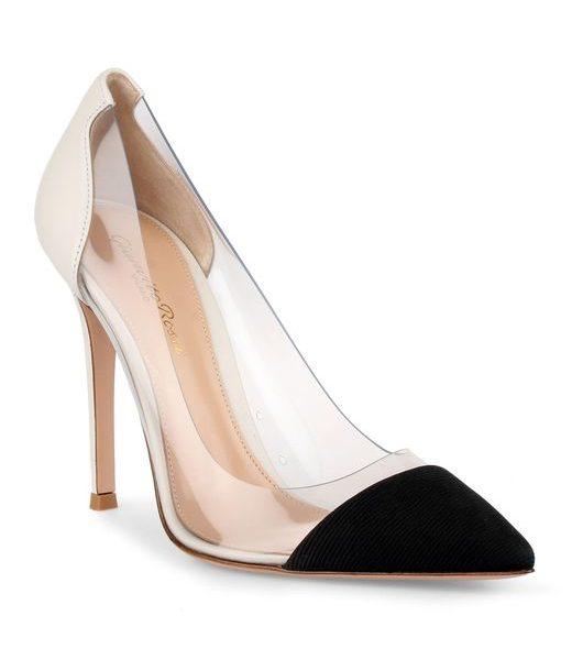 Meghan Markle Gianvito Rossi Plexi Shoes