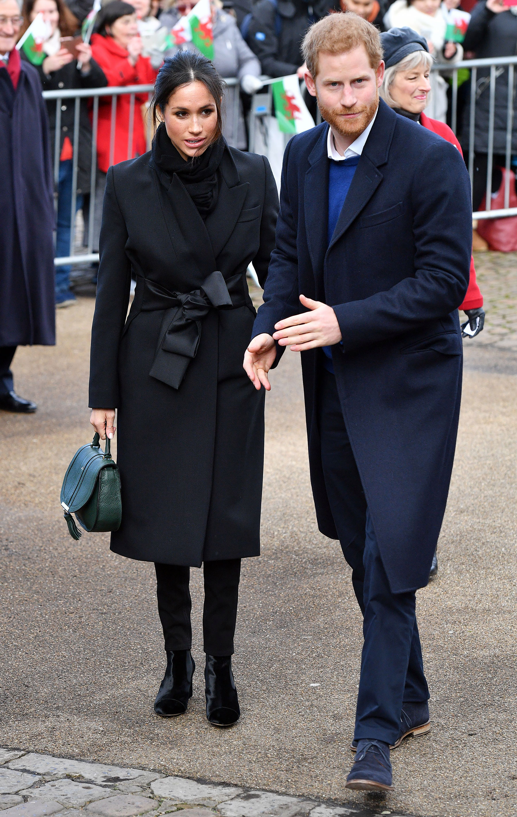 Meghan And Harry Visit Cardiff