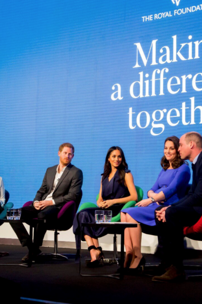 "Meghan Markle Joins the ""Fab Four"" at the First Annual Royal Foundation Forum"