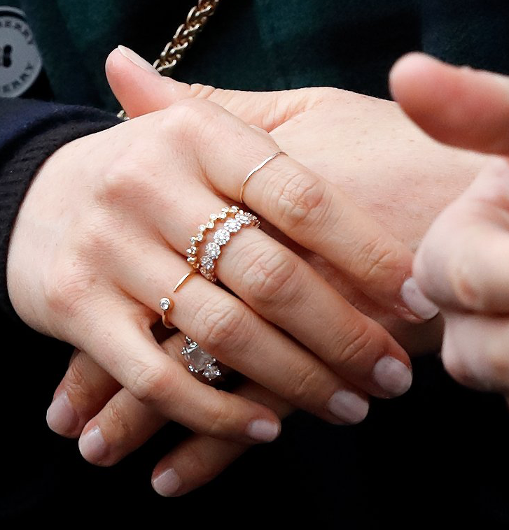 the art of the meghan markle ring stack