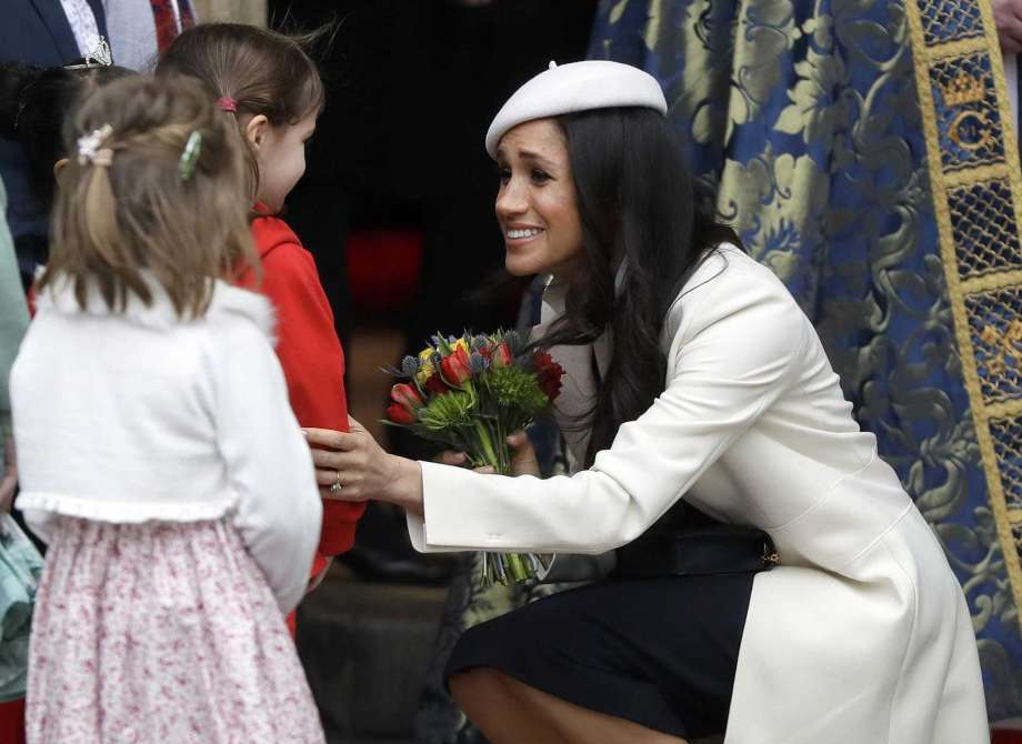 Meghan Markle Commonwealth Service Kids