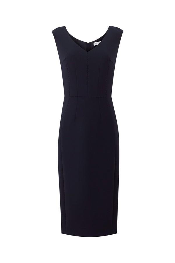 Meghan Markle Amanda Wakeley Navy Dress