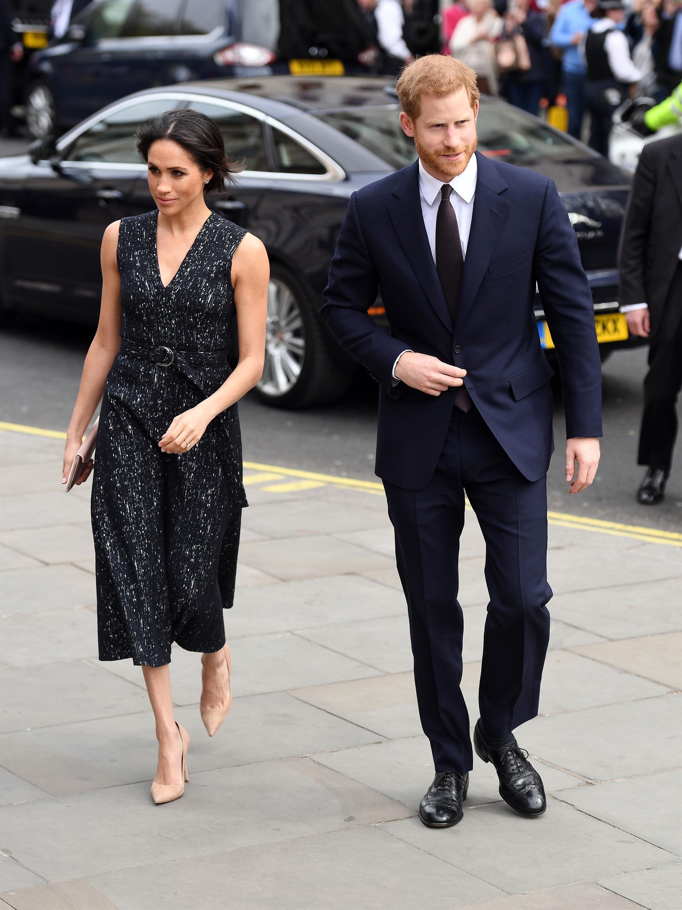 Watch Meghan Markle Is Now Wearing a Prince Harry Ring video