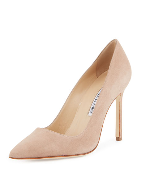 Manolo Blahnik Lace-Up Canvas Pumps online cheap quality clearance 2014 clearance new styles Fo8CnNL8