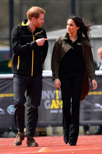 Meghan Markle and Prince Harry Attend Invictus Team GB Trials
