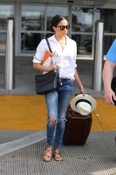 Stylist Saturday: Meghan's Chic Airport Style