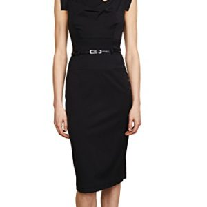Meghan Markle Jackie O Black Halo Dress