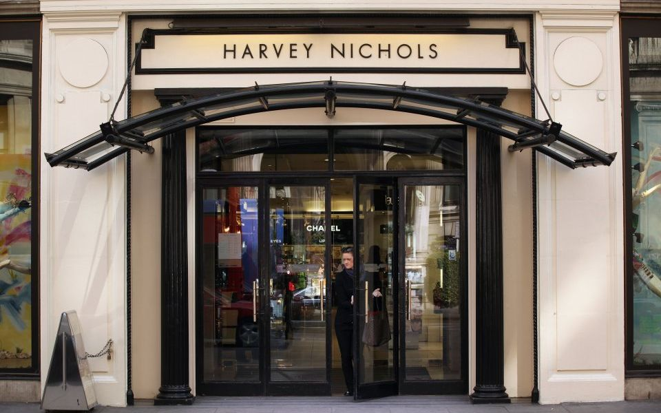 Meghan Markle London Shopping Harvey Nichols