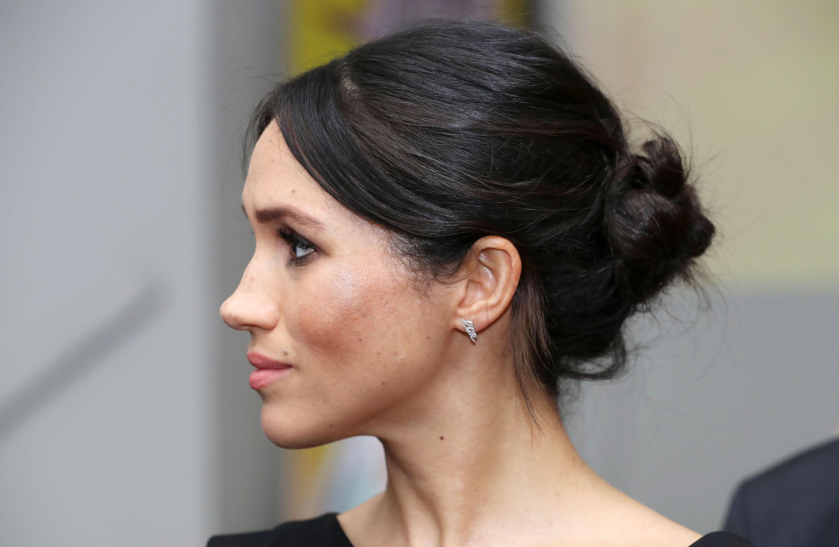 Birks Diamond Swirl Earrings