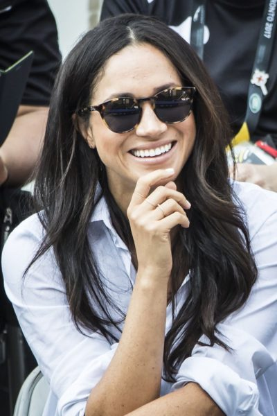 """Meghan Markle loves her Finlay London """"Percy"""" Sunglasses"""