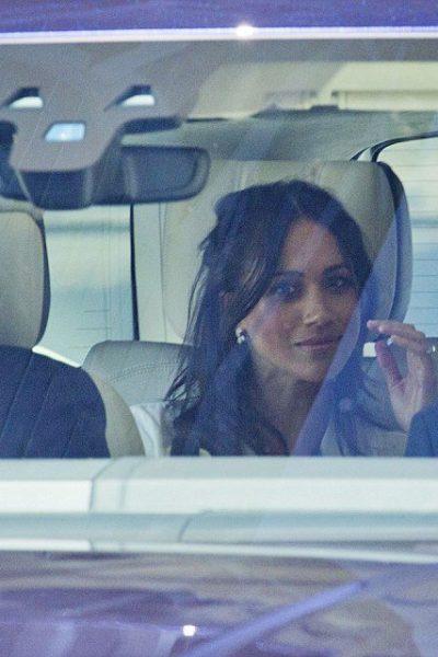 Meghan and Harry Visit Windsor Castle