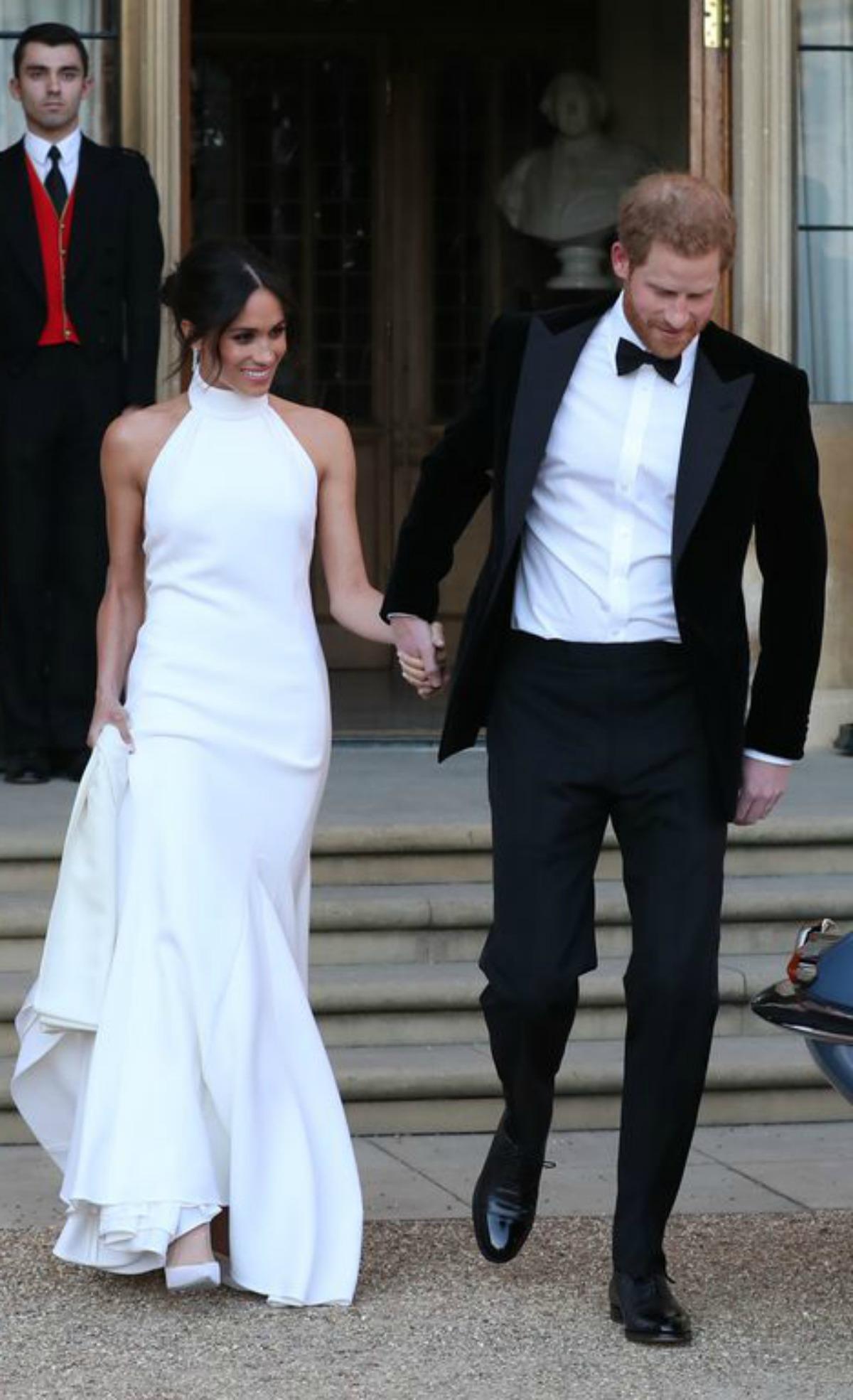Meghan Markle\'s Stella McCartney Evening Wedding Dress