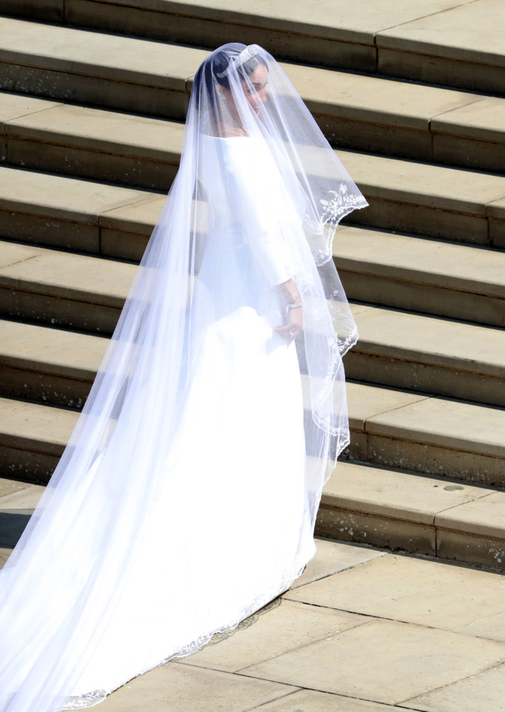 Clare Waight Keller for Givenchy Wedding Gown