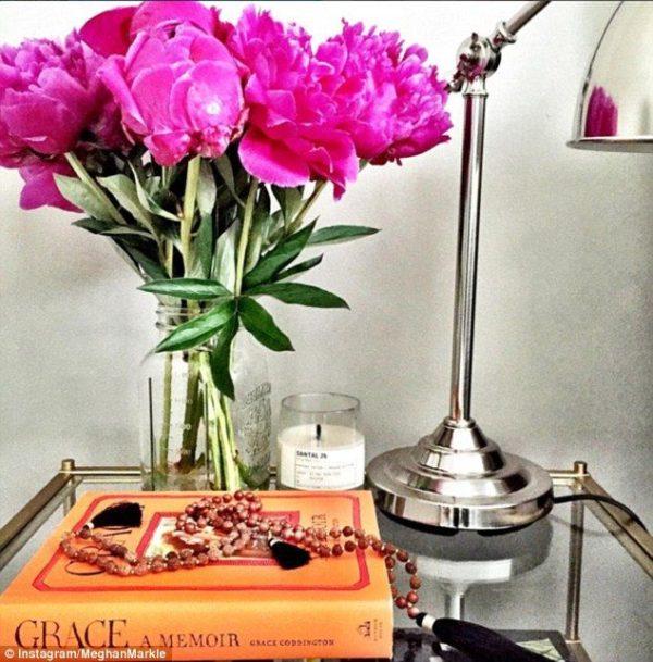 Meghan Markle Lamp Bedside Table
