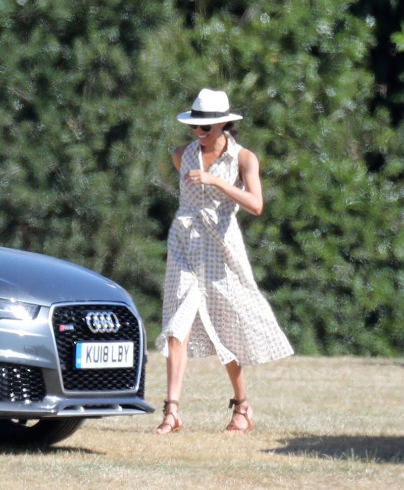 Meghan Markle Audi Polo Sussex