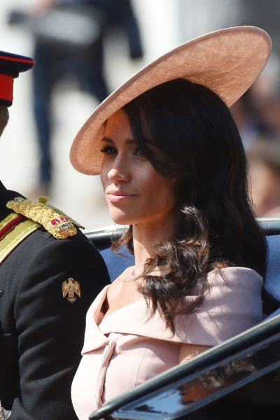 Meghan Attends Trooping the Colour