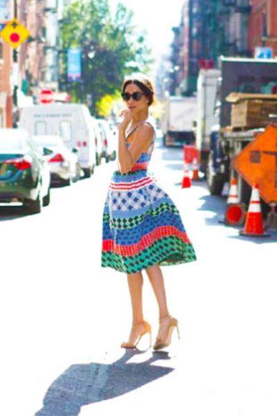 Meghan Markle's Bright, Cheery Novis Dress