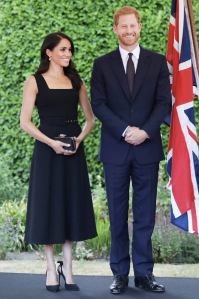 Meghan & Harry Attend Garden Party in Ireland