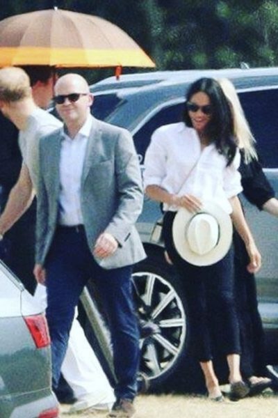 Meghan Attends Another Day of Polo