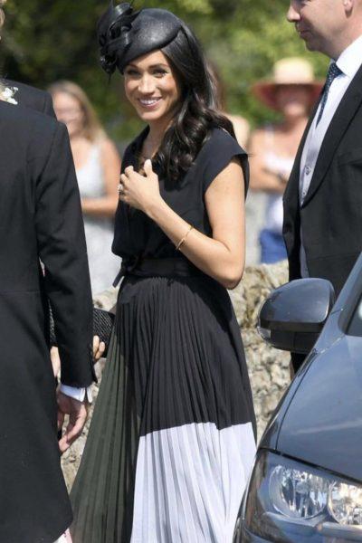 Meghan and Harry attend Charlie van Straubenzee's Society Wedding