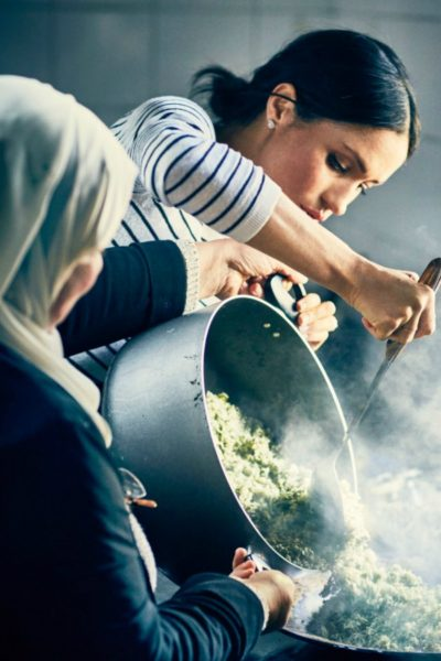Meghan Markle launches Together: Our Community Cookbook in support of the Hubb Community Kitchen