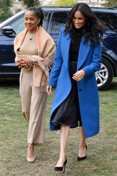 Meghan, Harry and Doria Attend the Launch of 'Together: Our Community Cookbook'