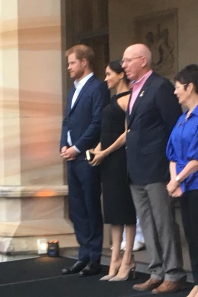 Meghan & Harry Attend Invictus Garden Party