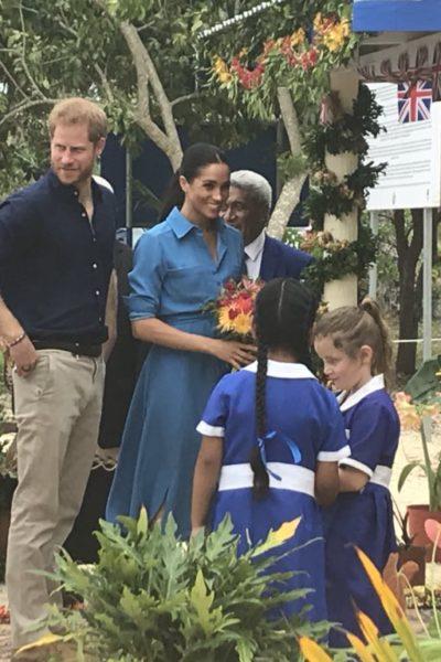 Meghan & Harry Bid Farewell to Tonga