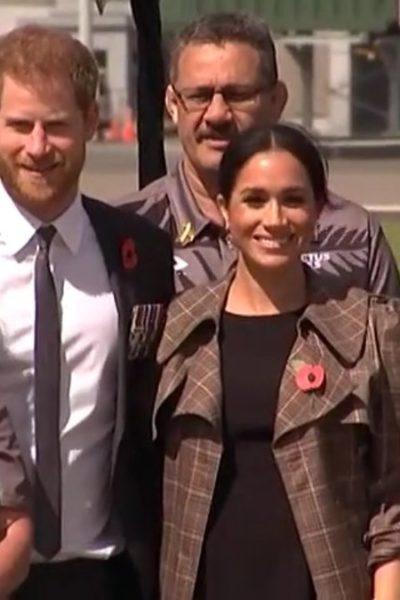 Meghan & Harry Arrive in New Zealand
